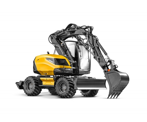Excavator multifunctional pe pneuri Mecalac 15MWR