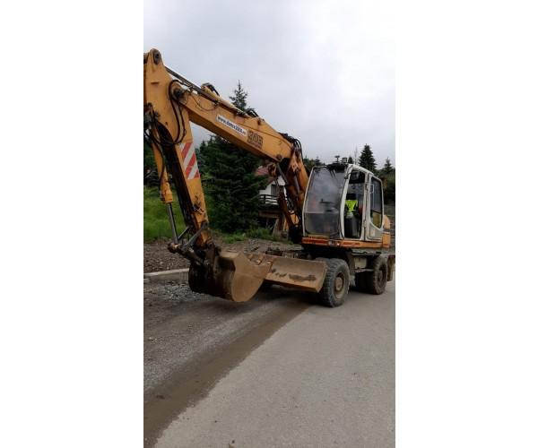 Excavator pe roti Liebherr A316