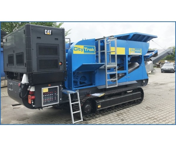 Concasor mobil cu falci City Trak 7TX