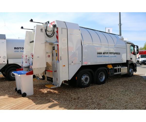 Masina de gunoi Faun Rotopress