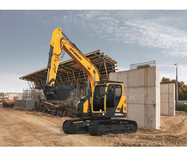 Excavator pe senile Hyundai HX 145