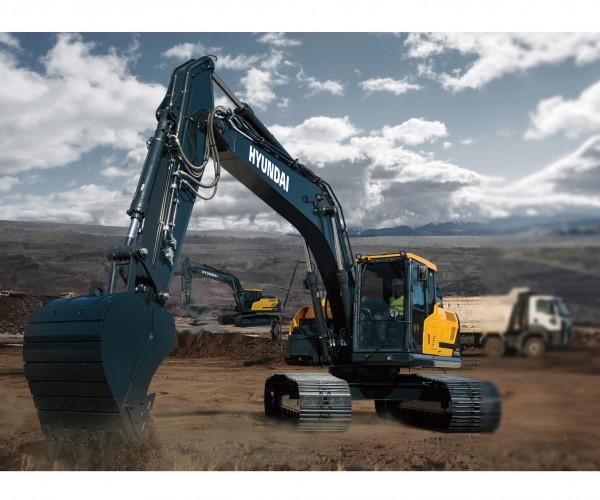 Excavator pe senile Hyundai HX210AL