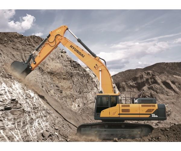 Excavator pe senile Hyundai HX 480