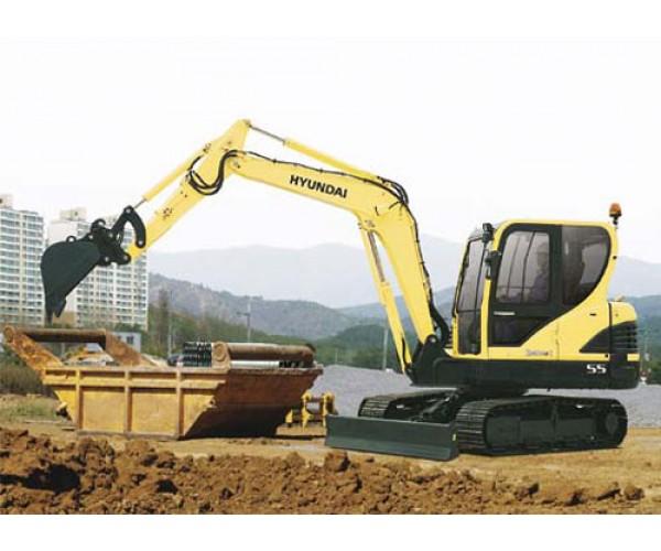 Miniexcavator Hyundai R55-9A