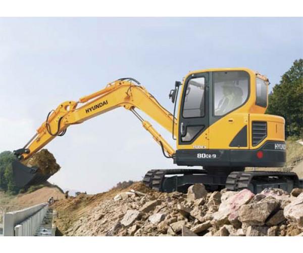 Miniexcavator Hyundai R80CR-9A
