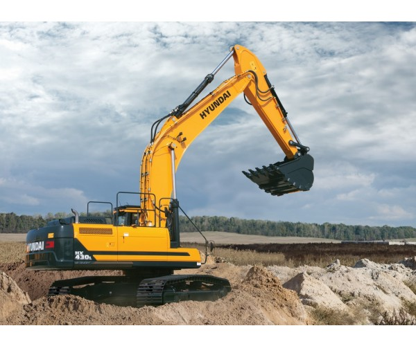 Excavator pe senile Hyundai HX 430