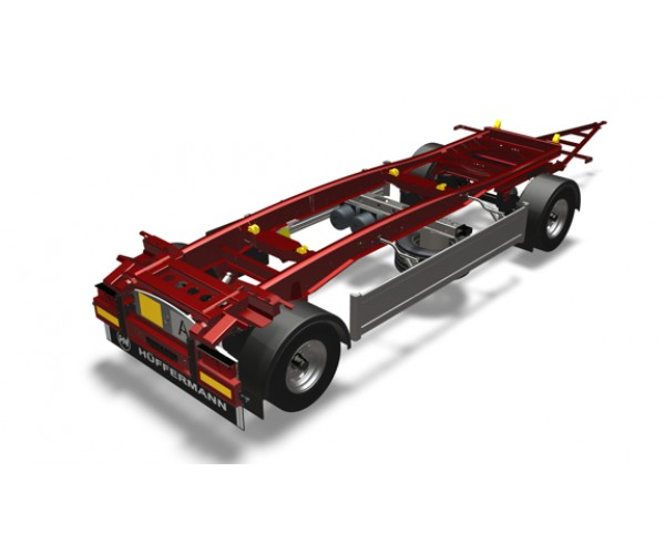 Remorca transport Abroll Slide Carrier