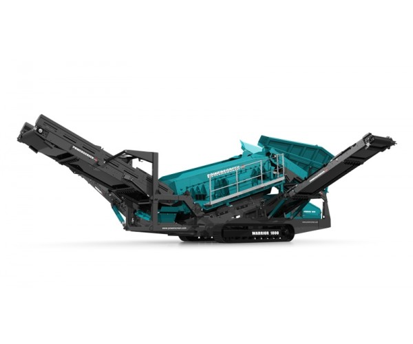 Statie de sortare heavy-duty Powerscreen Warrior 1800