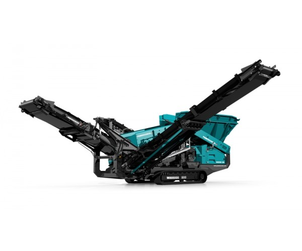Statie de sortare heavy-duty Powerscreen Warrior 800