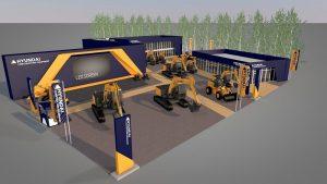 Hyundai Construction Equipment Europe lansează șase noi modele la Bauma